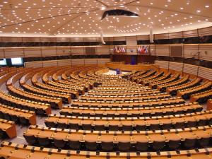 Europäische Parlament in Brüssel